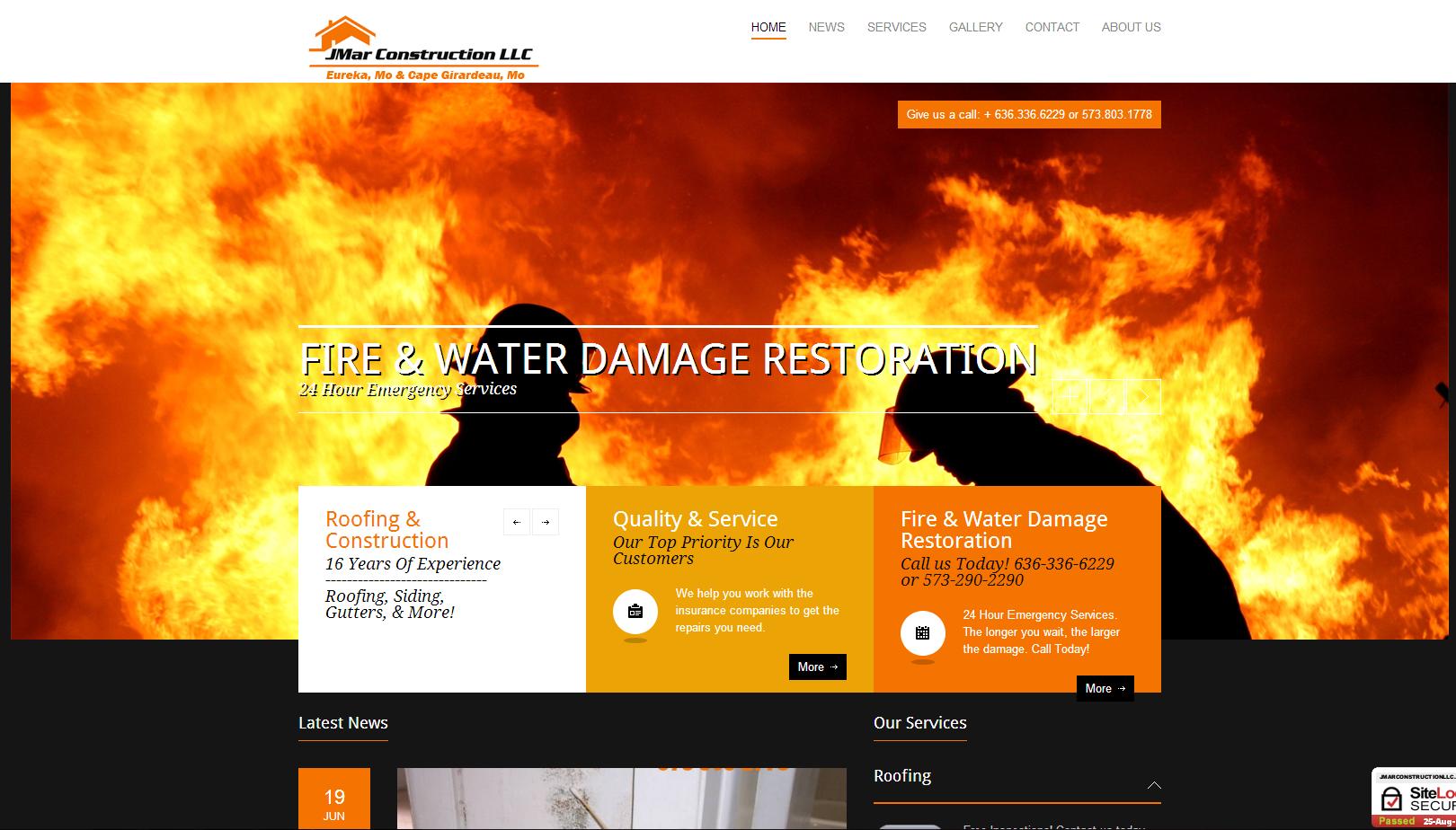 Web Design & SEO JMAR Construction